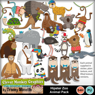 Cmg-hipster-zoo-animal-pack
