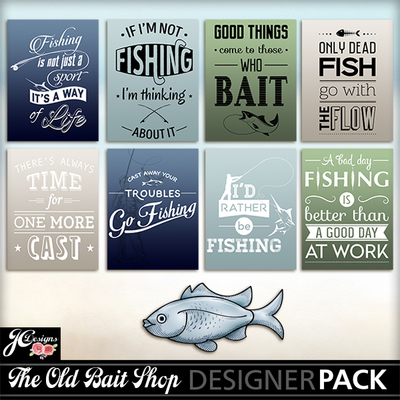 The_old_bait_shop_typography_cards