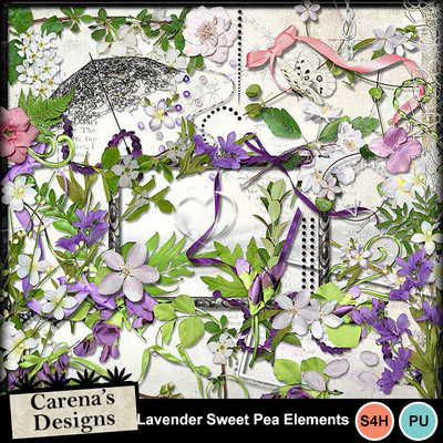 Lavender-sweet-pea-elements
