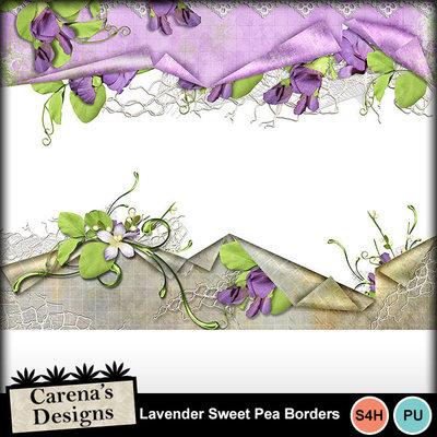 Lavender-sweetpea-borders