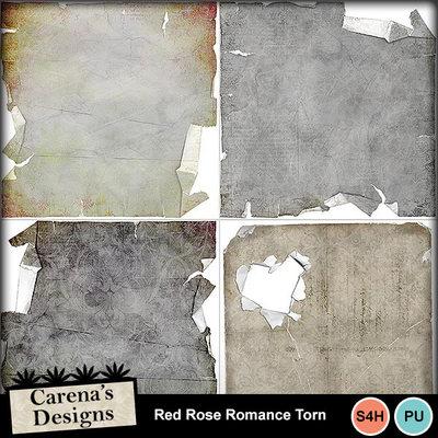Redroseromance-torn
