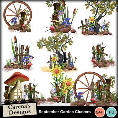 Sept-garden-clusters