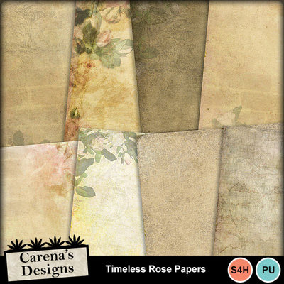 Timeless-rose-papers