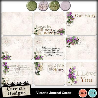 Victoria-journal-cards