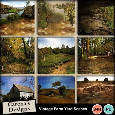 Vintage-farm-yard-scenes