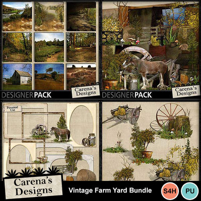 Vintage-farm-yard-bundle