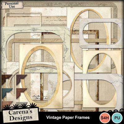 Vintage-paper-frames