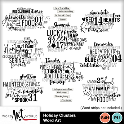 Holiday_clusters_word_art