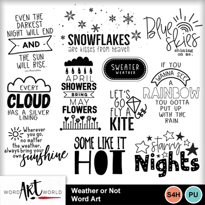 Weather_or_not_word_art