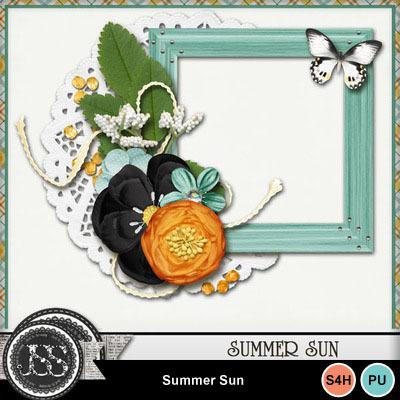 Summer_sun_cluster_frame