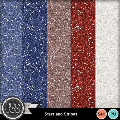 Stars_and_stripes_glitter_papers