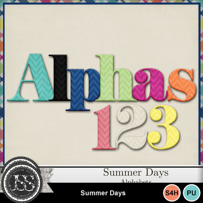 Summer_days_alphabets