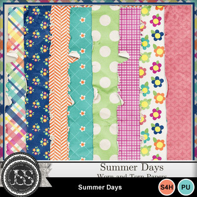Summer_days_worn_papers