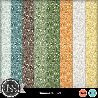 Summers_end_glitter_papers