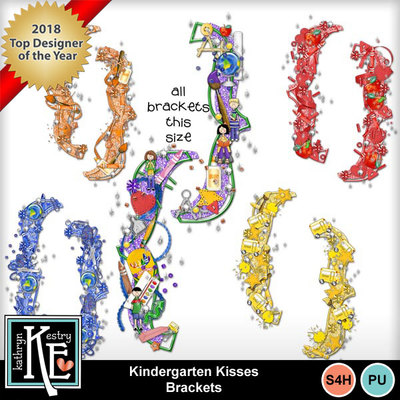 Kindergarten-kisses-bracket