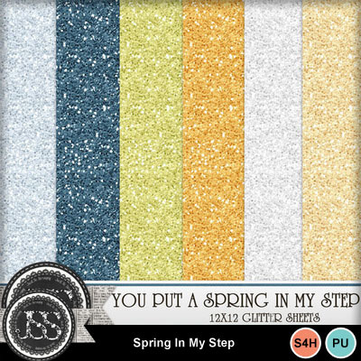 Spring_in_my_stepp_glitter_papers