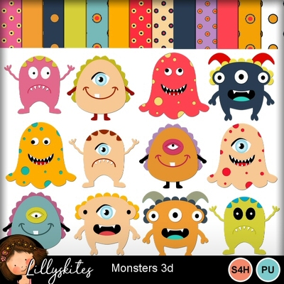 Monsters3d1