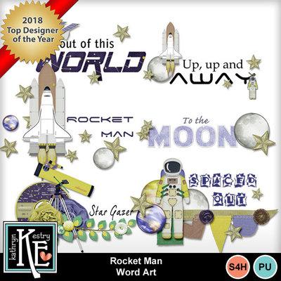 Rocketmanwordart