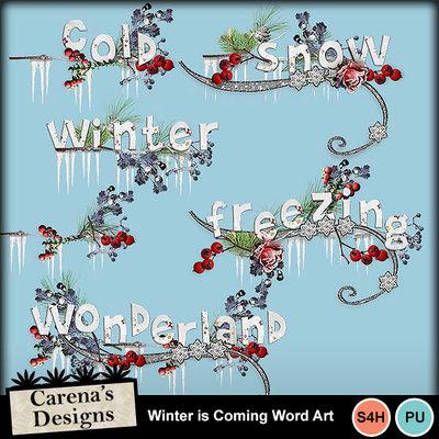 Winteriscoming-wordart