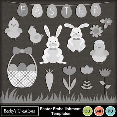 Easter_embellishment_templates