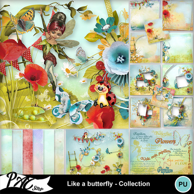 Patsscrap_like_a_butterfly_pv_collection