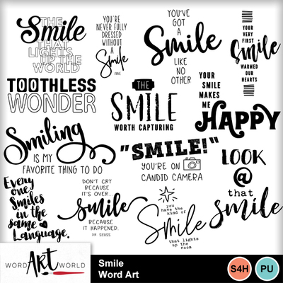 Smile_word_art