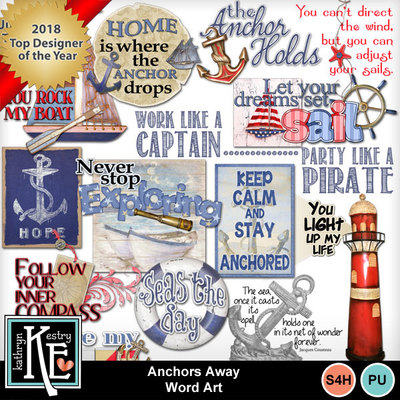 Anchors-awaywordart