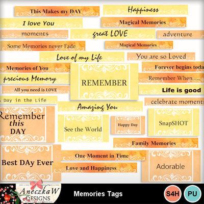 Memories_tags