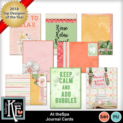 At-the-spa-journal-cards