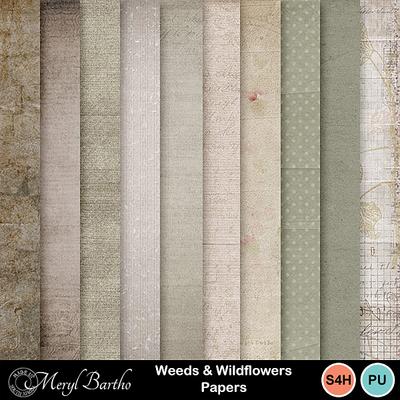 Weeds_wildflower_papers
