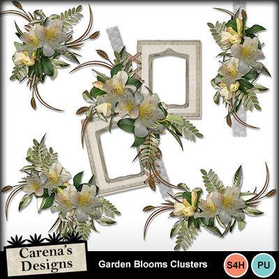 Garden-blooms-clusters