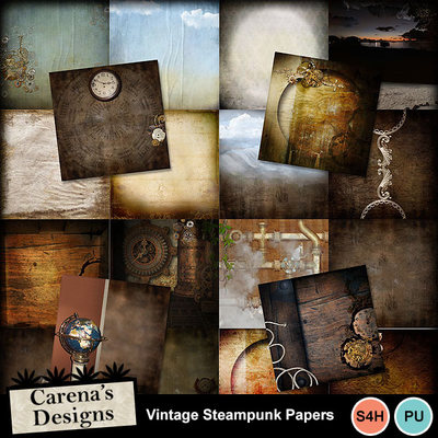 Vintagesteampunk-papers