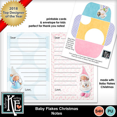 Baby-flakes-christmas-notes
