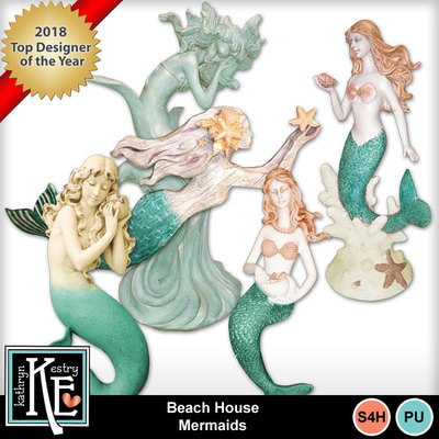 Beach-housemermaids
