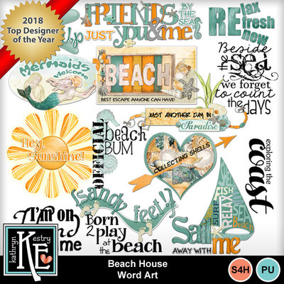 Beach-house-wordart