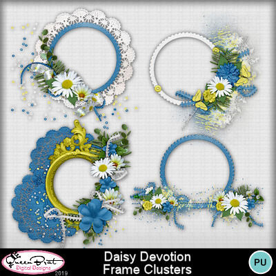 Daisydevotionframeclusters-1