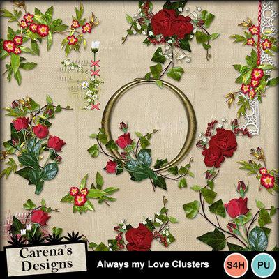 Always-my-love-clusters