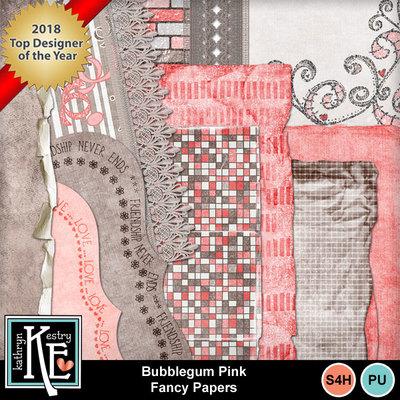 Bubblegum-pink-fancy-papers