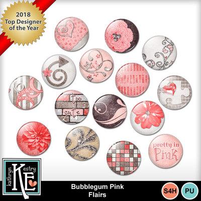 Bubblegum-pink-flairs