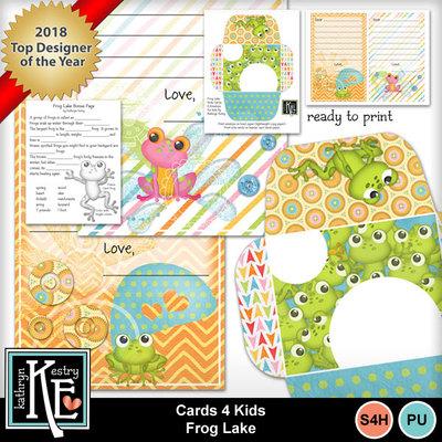 Cards4kids-frog