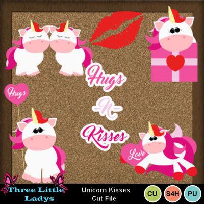 Unicorn_kisses_cut_file-tll