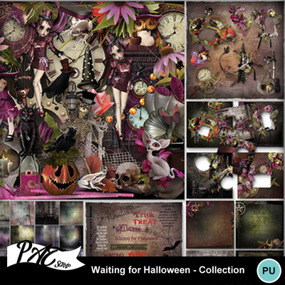 Patsscrap_waiting_for_halloween_pv_collection