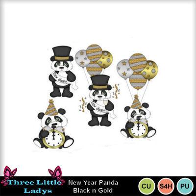 New_year_panda-blackgold-tll