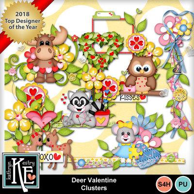 Deervalentineclusters01