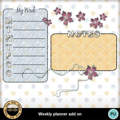 Weeklyplanneraddon