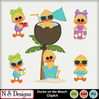Ducks_on_the_beach_ca