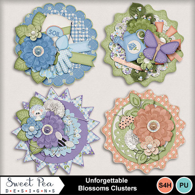 Spd-unforgettable-clusters