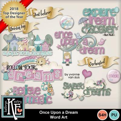 Onceuponadream-word-art