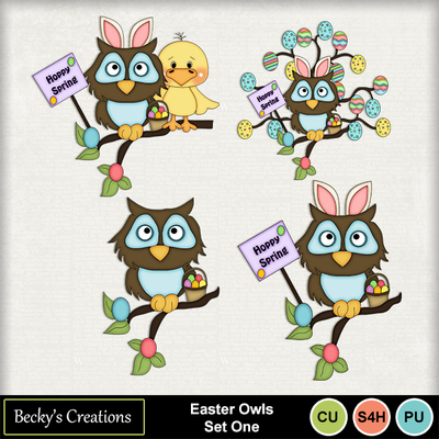 Easter_owls_set_one