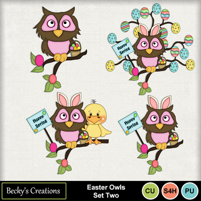 Easter_owls_set_two